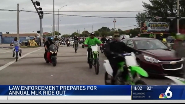 Police Preparing For ATV Riders During MLK Holiday