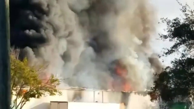 MUST SEE: Fort Lauderdale Warehouse Fire