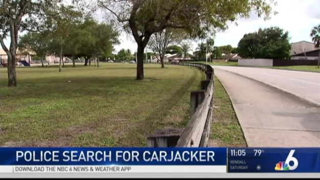 Police Continue Search For Carjacker in NW Miami-Dade