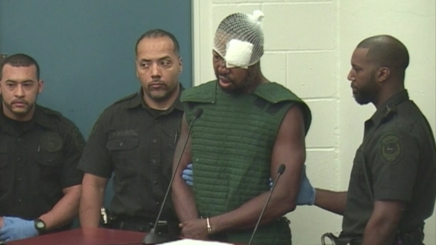 NEW VIDEO: Orlando Police Shooting Suspect in Court