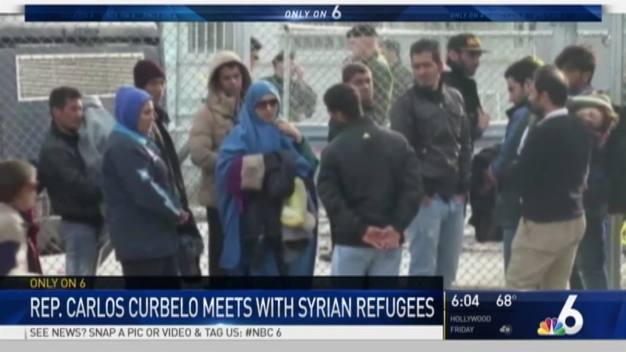 Miami Congressman Meets With Syrian Refugee Families