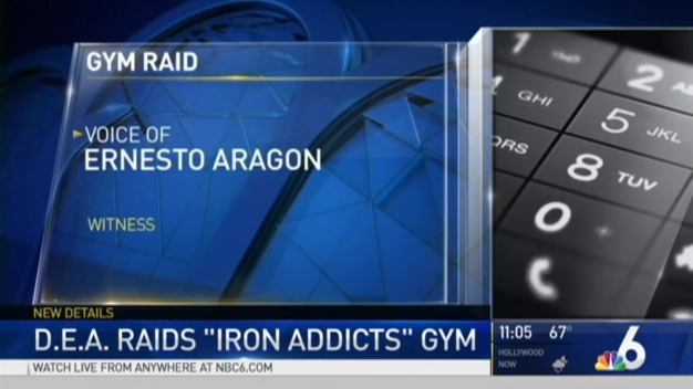 Authorities Raid Gym in Miami, Owner Facing Steroid Charges
