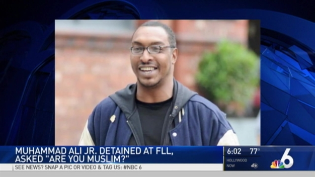 Muhammad Ali's Son Detained at FLL Airport