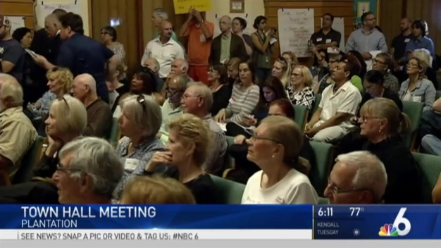 Constituents Host Town Hall for Sen. Marco Rubio in Plantation