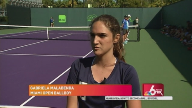 Miami Open: How to Become a Ballboy/girl