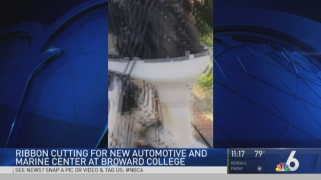 Broward College Unveils New Auto and Marine Center
