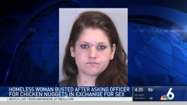 Florida Woman Offers Sex for Chicken Nuggets: Cops