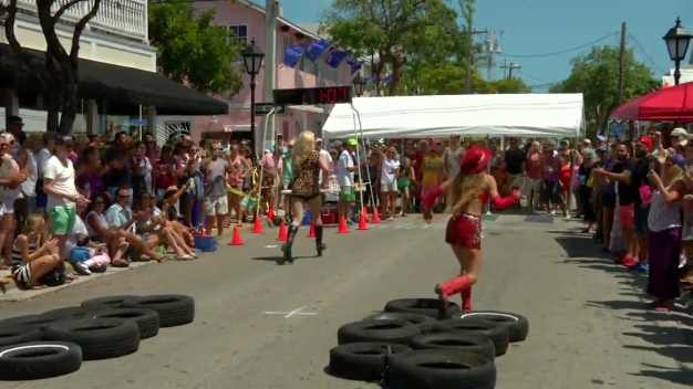 Key West 'Drag Race' Stars High-Heeled Female Impersonators
