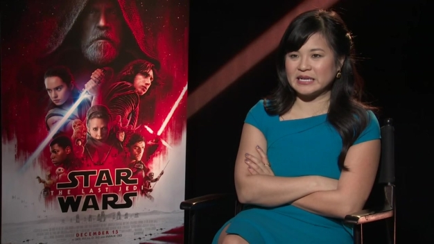 "Kelly Marie Tran Talks Joining ""The Last Jedi"" Cast"