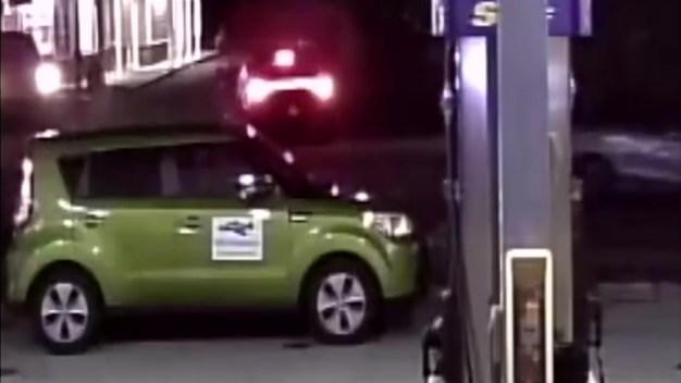 Surveillance Shows Davie Rollover Crash