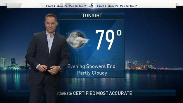 NBC 6 Weekend Weather - September 15 Evening