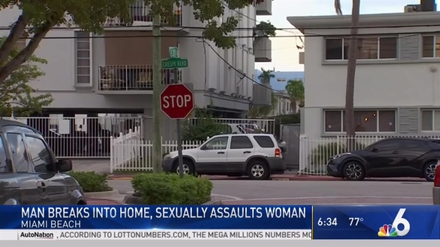 Woman Sexually Assaulted Inside Miami Beach Home