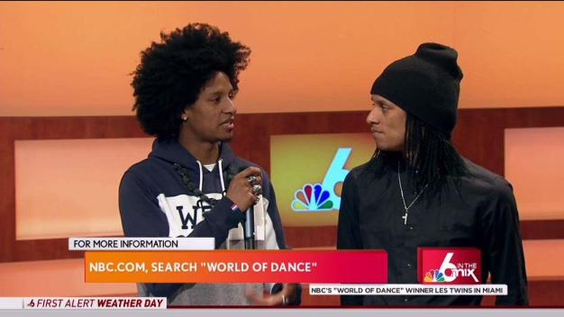 """World of Dance"" Winners Les Twins in Miami"