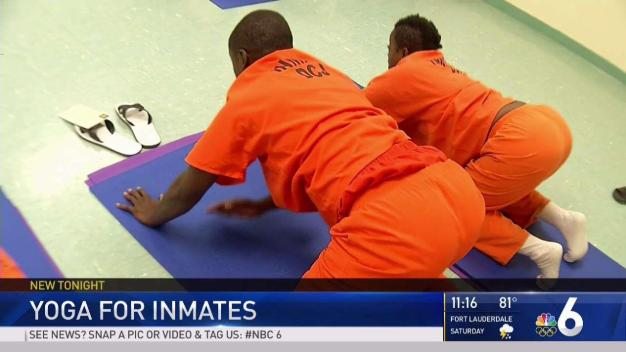 Yoga Offered to Inmates at Miami Jail