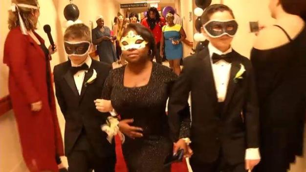 Young Hospital Patients Celebrate Prom Night