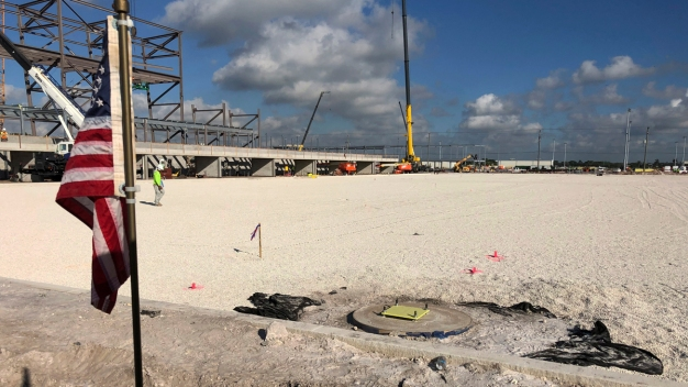 New Stadium Complex in Broward for Inter Miami Taking Shape