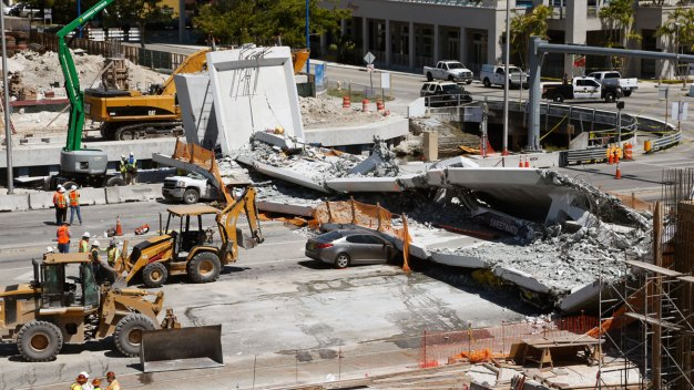 Video Provides Clues on Cause of Miami Bridge Collapse