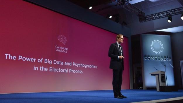 Facebook Bans Trump-Affiliated Data Firm Cambridge Analytica