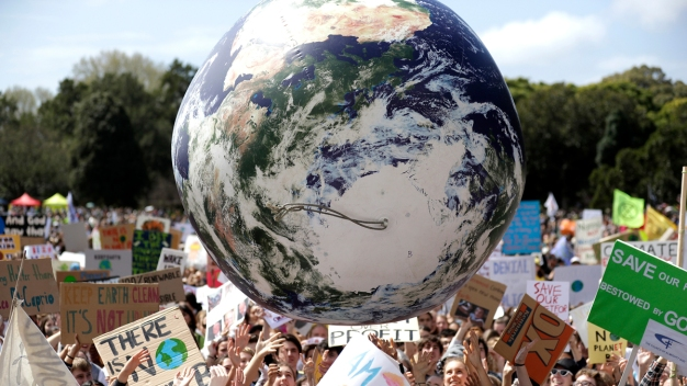 2nd Day of MSNBC's Climate Forum Coincides With Global Protests