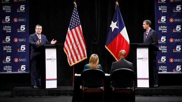 Sparks Fly in First Cruz, O'Rourke Debate: Full Debate
