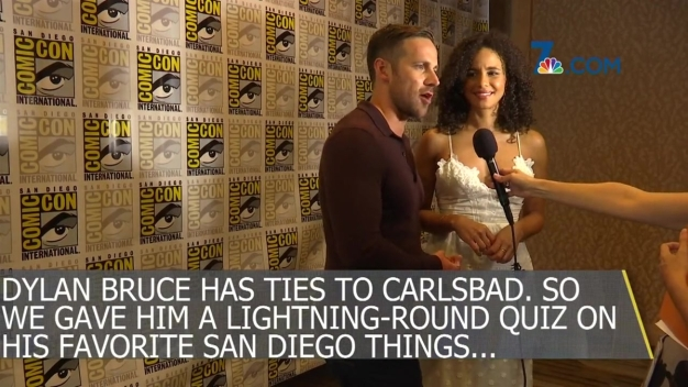 Stars of NBC's 'Midnight Texas' Answer Questions at Comic-Con