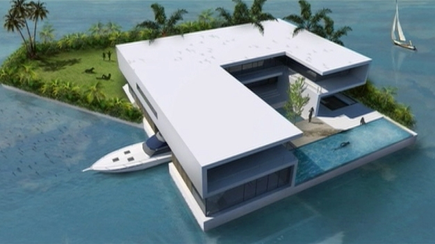 Floating Homes Pitched for N. Miami Beach