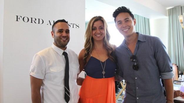 Fashion Bloggers Pampered at Swim Week