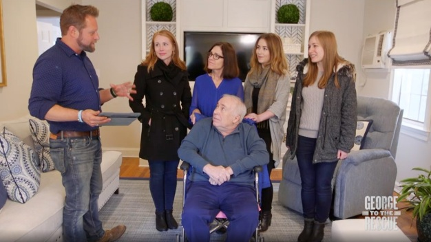 Sisters Give Dad With Parkinson's a Home Renovation