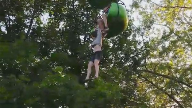 Teen's Fall From NY Six Flags 'Sky Ride' Caught on Camera