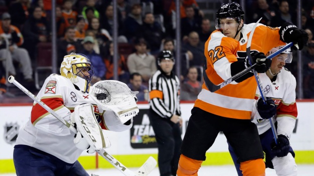 Ekblad, Dadonov Lead Panthers Past Flyers 2-1