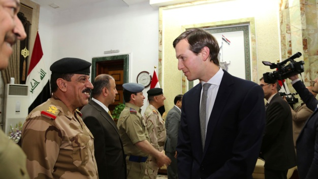 Trump Son-in-Law Kushner Arrives in Iraq for Official Visit