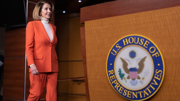 Pelosi Has 'Candid' Talk With Potential Rival for Speaker