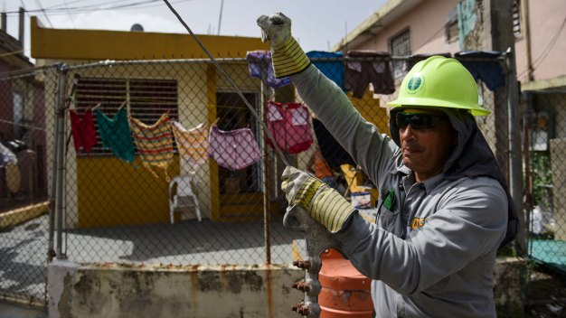 What Puerto Rico Is Doing to Get the Power Back After Storm<br />