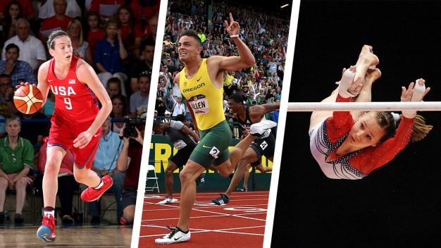 NCAA Stars Take Their Talents to Rio