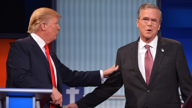 Trump Rips Into Jeb Bush at Tampa Rally