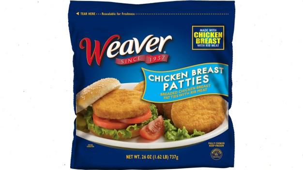 Tyson Foods Recalls 39K Pounds of Frozen Chicken Patties}