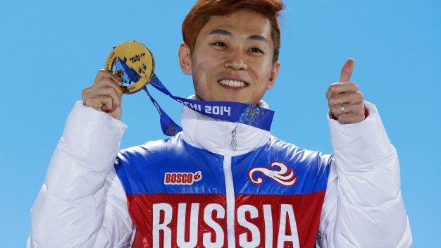 Russian Speedskating Star Viktor Ahn Among Barred Olympians