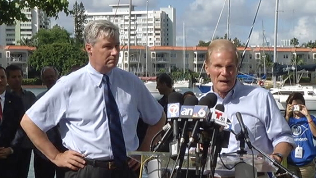 Senators Talk King Tide and Climate Change