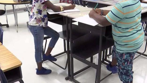 Father Makes Push For Standing Desk in Classrooms