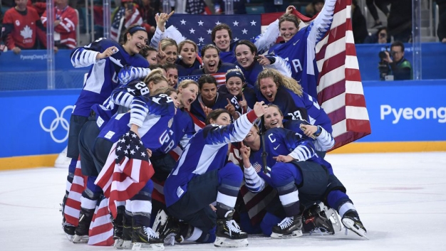 By the Numbers: Hockey Makes History, Wise Wins Halfpipe