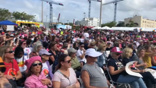 Women's March Rally Draws More Than 1,000 In Wynwood