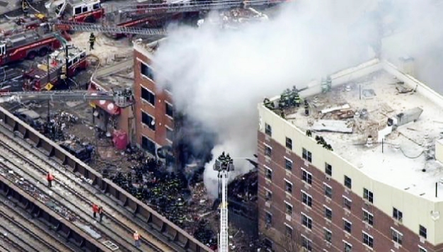 2 Dead, 22 Hurt After Gas Blast Levels NYC Buildings