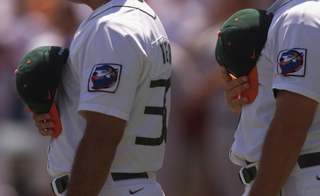 Hurricanes Beat Virginia in ACC Baseball Tournament Opener