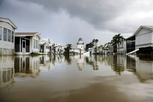 Swamped by Irma, Tiny Florida Town Pushes Toward Recovery