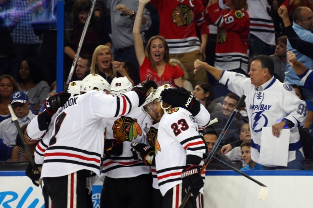 Blackhawks 1 Game Away From Stanley Cup, Beat Lightning 2-1