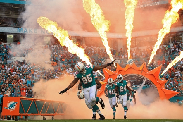 Dolphins Revoke Season Tickets of Fans Who Started Brawl