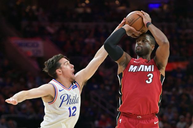 Wade Not Ready to Announce Plans After Heat Eliminated