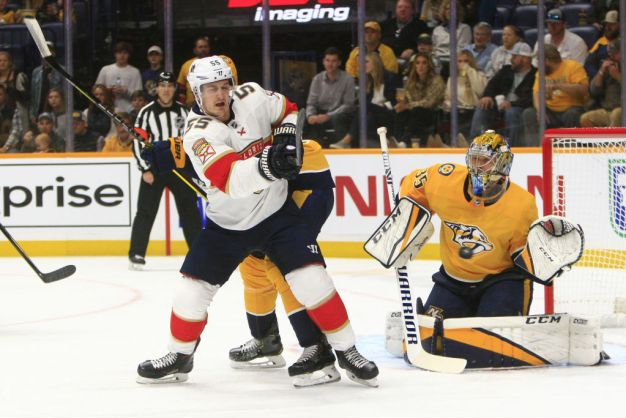 Shootout Goal Gives Florida Panthers a Win Over Nashville