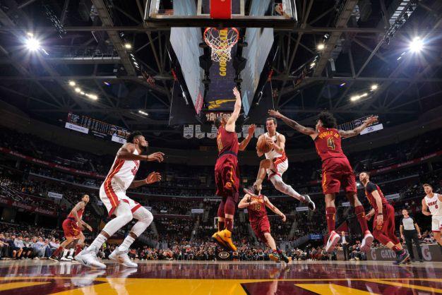 Nunn, Adebayo Lead Miami Heat Past Cleveland Cavaliers