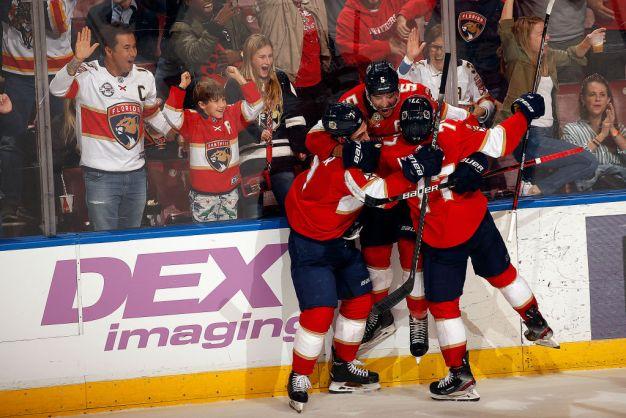 Panthers Score 5 Straight Goals to Beat Anaheim Ducks in OT